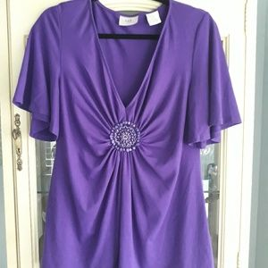 Lovely Women's Large Top